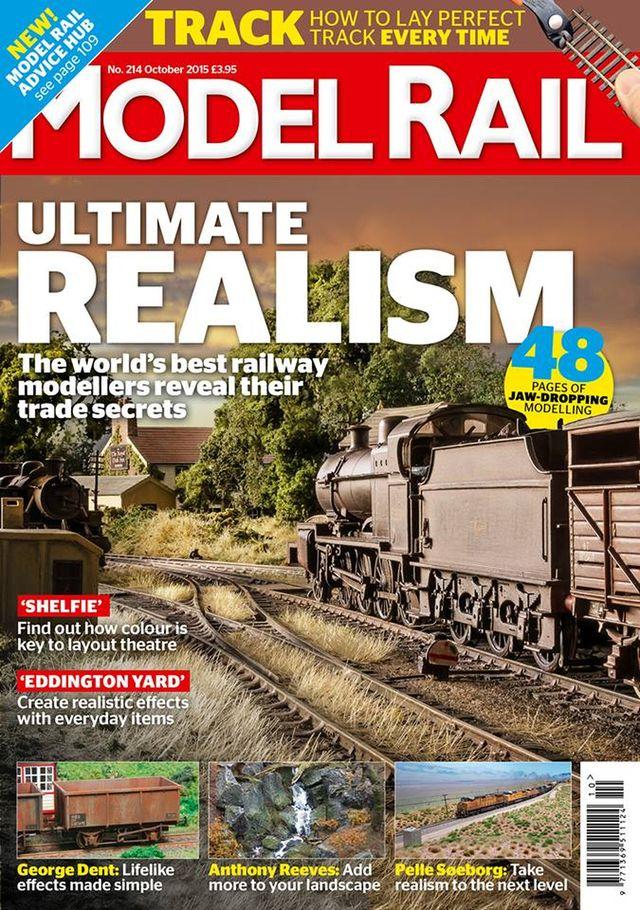 Twin Mills featured in Oct '15 Model Rail magazine