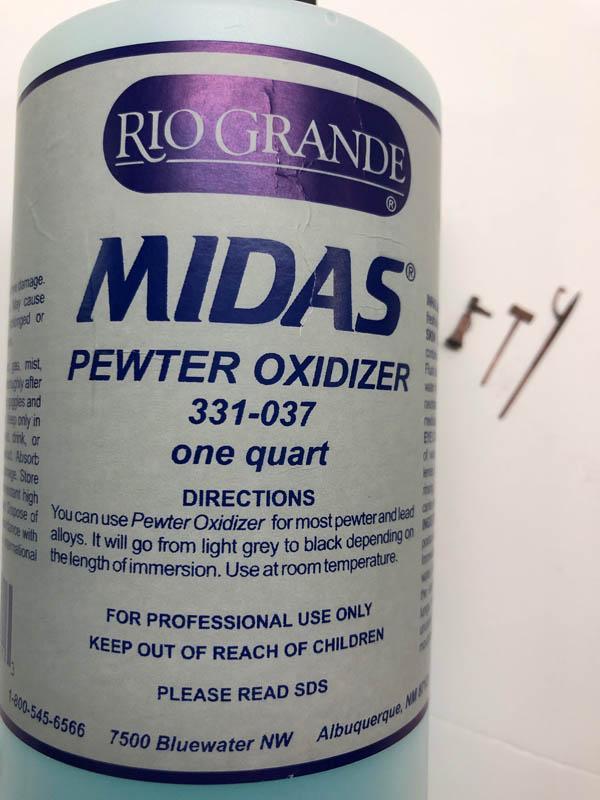 SWSM CHB  Pewter Castings & RG Midas Oxidezer r.1
