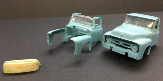 Revell 1950s Ford Pick-Up Truck Windshield cr1