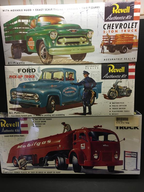 Revell 1_48th Truck Kits r1